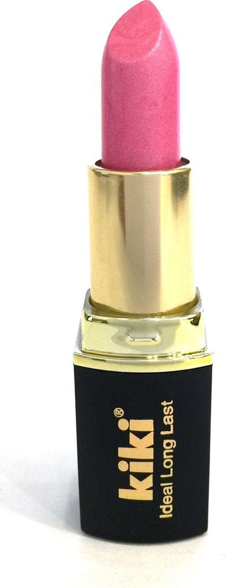 Kiki Помада для губ Ideal Long Last 332, 4 гр28032022Мягкая текстура и устойчивая консистенция помады KIKI IDEAL LONG LAST равномерно наносится на губы, не вызывает ощущение сухости. Питает и увлажняет губы, придает насыщенный стойкий цвет. Разнообразная палитра оттенков, в том числе матовая и с перламутровыми цветными эффектами.