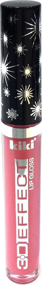 Kiki Жидкая помада -блеск для губ 3D Effect 901, 2,4 мл, 2,4 мл102300028Блеск для губ KIKI 3D Effect зрительно увеличивает губы, делая их выразительными и объемными. Блеск не липнет и великолепно смотрится на губах. Ухаживающие компоненты эффективно увлажняют и питают губы, заботясь об их здоровье и красоте.