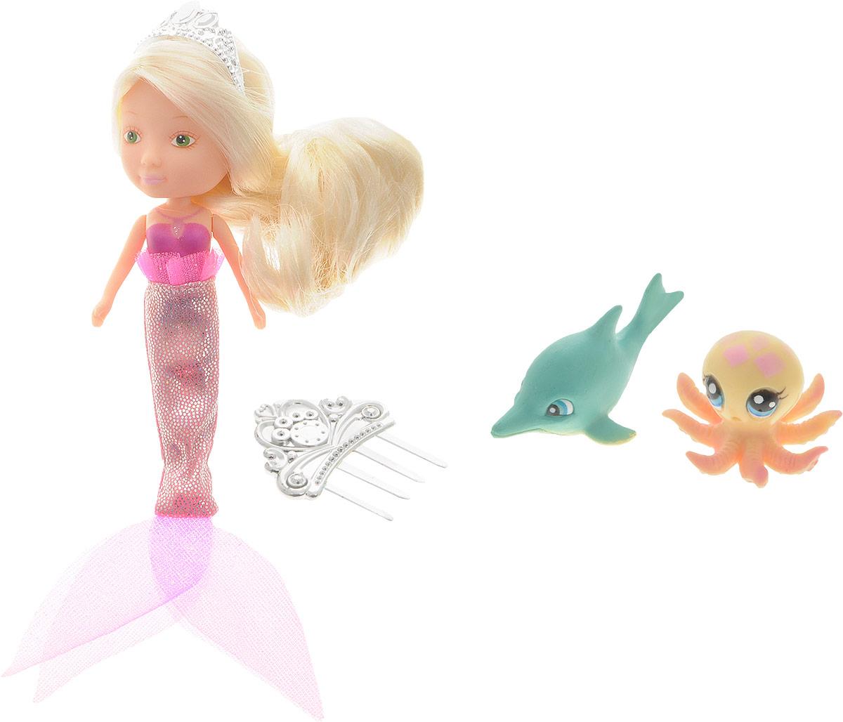 Veld-Co Игровой набор с мини-куклой Русалка и Морские обитатели veld co набор парикмахер для питомца