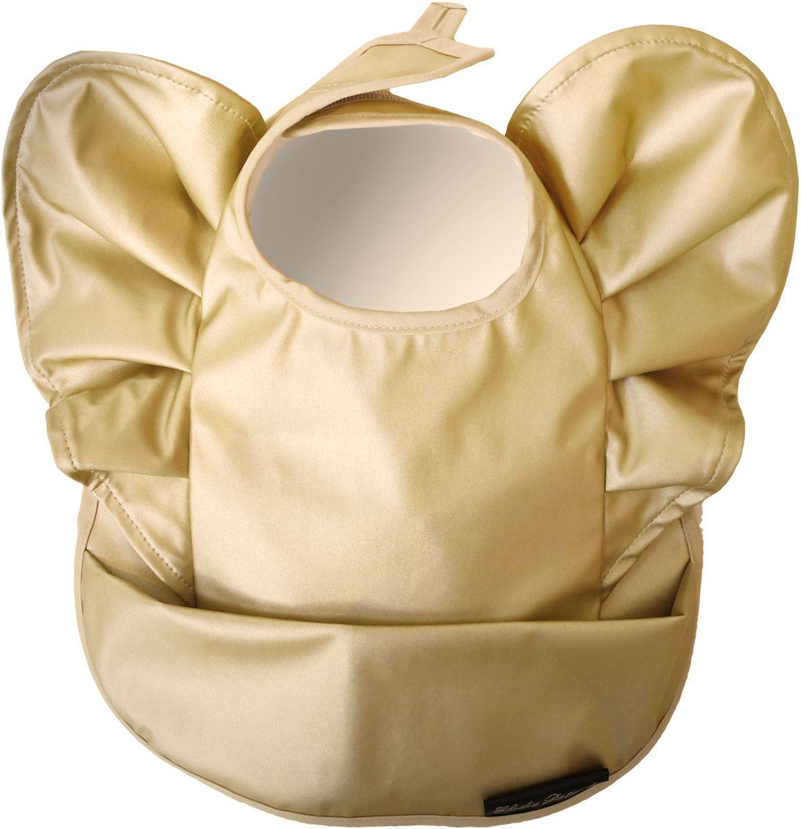 Elodie Details Нагрудник Golden Wings от 3 месяцев elodie details пустышка marble grey от 3 месяцев