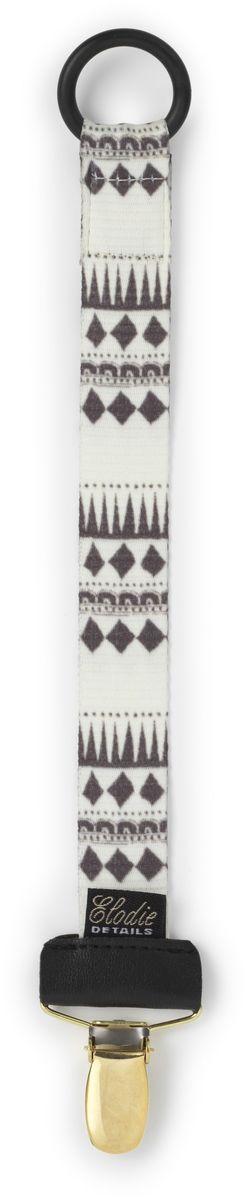 Elodie Details Клипса-держатель для соски-пустышки Graphic Devotion от 0 месяцев elodie details пустышка marble grey от 3 месяцев