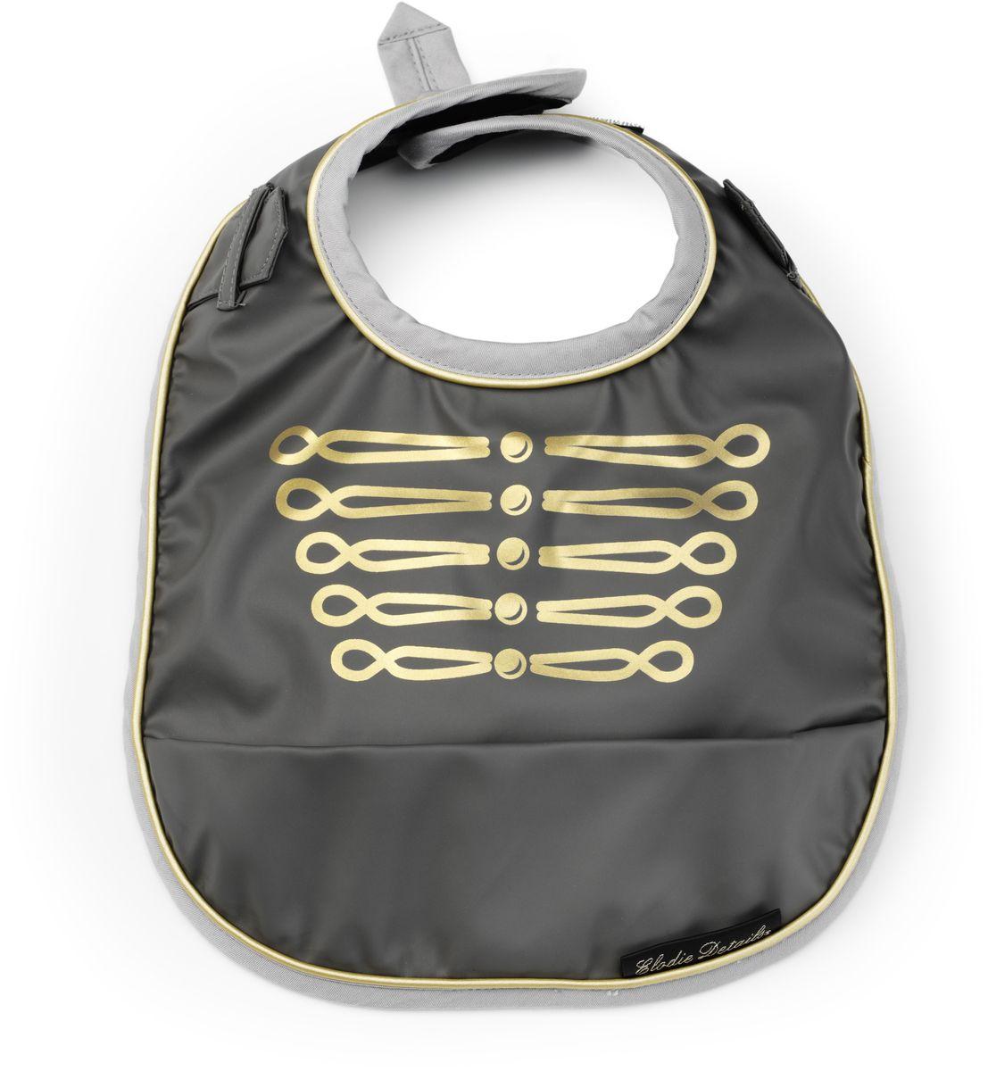Elodie Details Нагрудник Golden Grey от 3 месяцев - Все для детского кормления