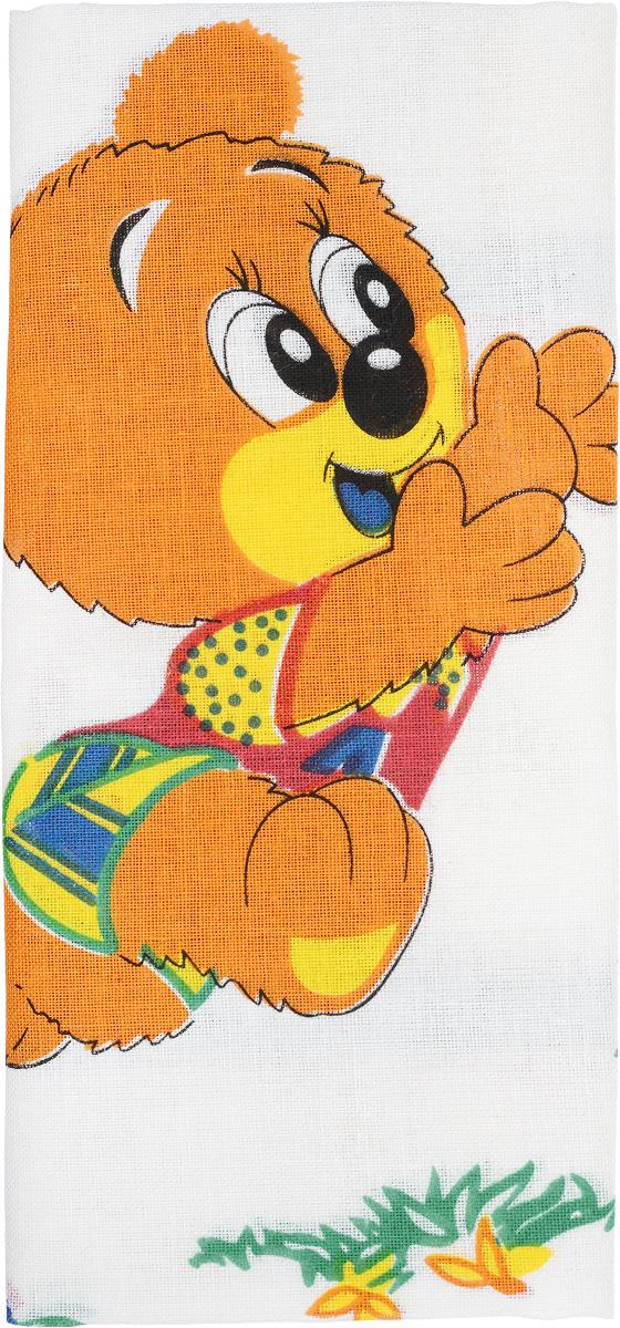 Платок носовой детский Zlata Korunka, цвет: мультиколор. 40232-6. Размер 25 х 25 см, 2 шт39864|Серьги с подвескамиДетский носовой платок Zlata Korunka изготовлен из высококачественного натурального хлопка, благодаря чему приятен в использовании. Платок хорошо стирается, не садится и отлично впитывает влагу. Платочек декорирован оригинальным принтом. В комплекте 2 платка.