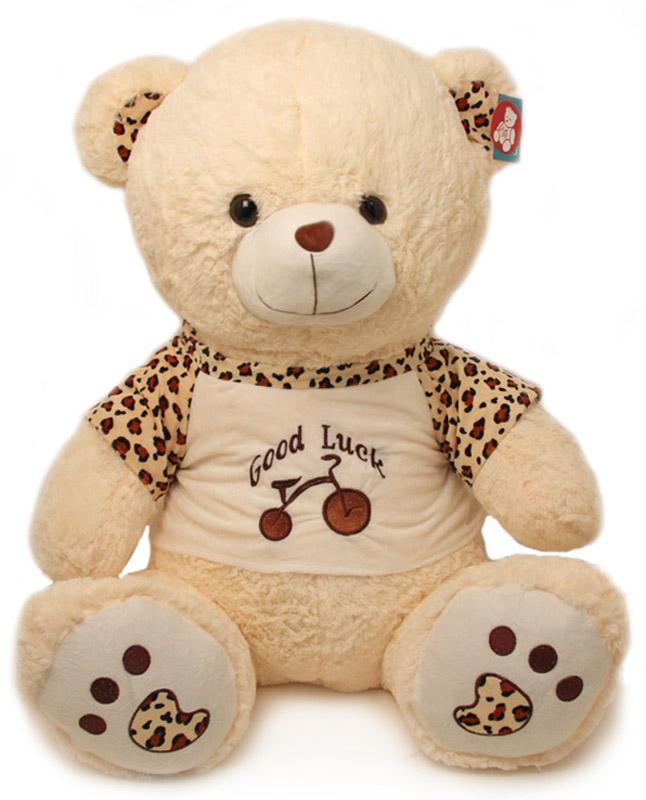 Magic Bear Toys Мягкая игрушка Мишка в футболке 80 см мягкая игрушка magic bear toys тигр 60 см