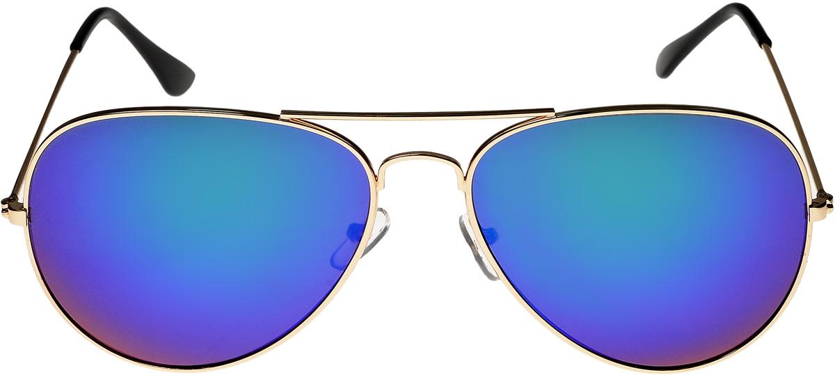 Очки солнцезащитные Vittorio Richi, цвет: золотистый, сиреневый. ОС3028/17fBM8434-58AEОчки солнцезащитные Vittorio Richi это знаменитое итальянское качество и традиционно изысканный дизайн.