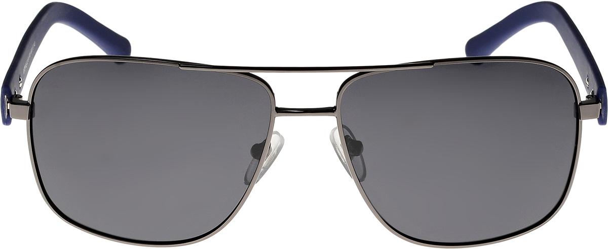 Очки солнцезащитные мужские Vittorio Richi, цвет: черный, голубой. ОС8146с2-91-F08/17fINT-06501Очки солнцезащитные Vittorio Richi это знаменитое итальянское качество и традиционно изысканный дизайн.
