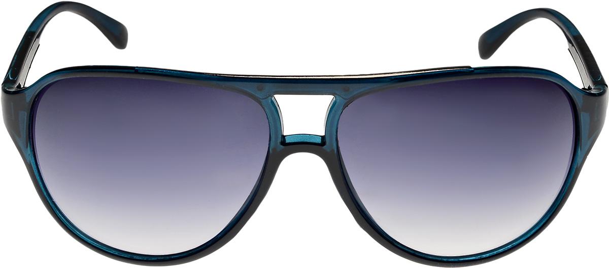 Очки солнцезащитные женские Vittorio Richi, цвет: синий. ОС1359c55/17fINT-06501Очки солнцезащитные Vittorio Richi это знаменитое итальянское качество и традиционно изысканный дизайн.