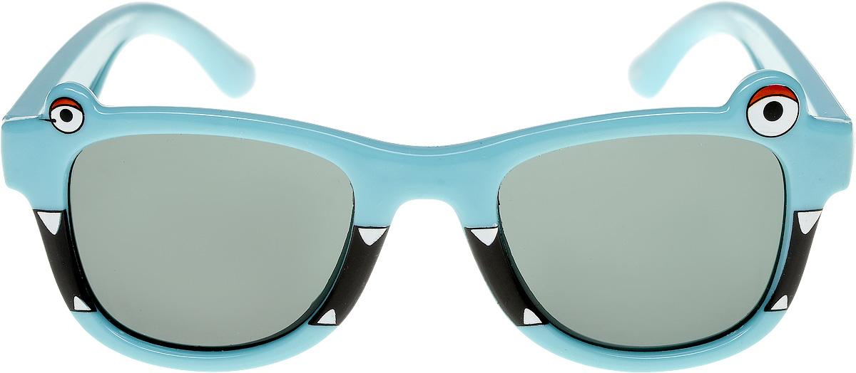 Очки солнцезащитные детские Vittorio Richi, цвет: голубой. ОСлягушки/17fBM8434-58AEОчки солнцезащитные Vittorio Richi это знаменитое итальянское качество и традиционно изысканный дизайн.