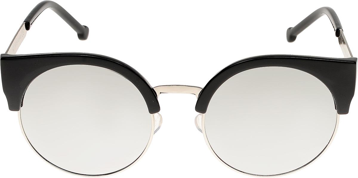 Очки солнцезащитные женские Vittorio Richi, цвет: черный. ОС6702с7/17fINT-06501Очки солнцезащитные Vittorio Richi это знаменитое итальянское качество и традиционно изысканный дизайн.