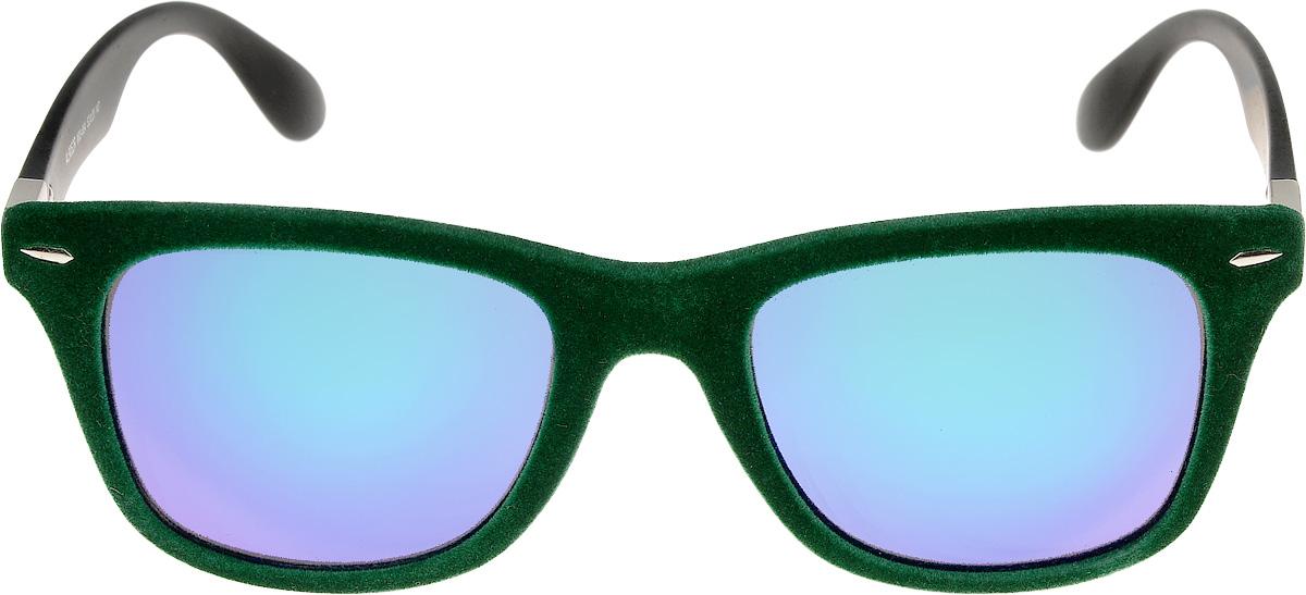 Очки солнцезащитные женские Vittorio Richi, цвет: зеленый, синий. ОС9052W03-654/17fINT-06501Очки солнцезащитные Vittorio Richi это знаменитое итальянское качество и традиционно изысканный дизайн.