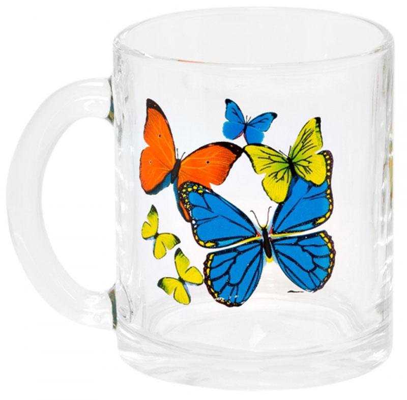 Кружка OSZ Чайная. Танец бабочек, 320 мл. 04C1208-TBM04C1208-TBMКружка OSZ Чайная. Танец бабочек изготовлена из термостойкого стекла и украшена яркимрисунком. Изделие оснащено удобной ручкой и сочетает в себе лаконичный дизайн и функциональность.Идеально подойдет для чая и других горячих напитков. Яркий принт поднимет настроение вам и вашим гостям! Кружка OSZ Чайная. Танец бабочек не только украсит ваш кухонный стол, но иподчеркнет прекрасный вкусхозяйки. Диаметр кружки: 8 см.Высота кружки: 9,5 см. Объем: 320 мл.