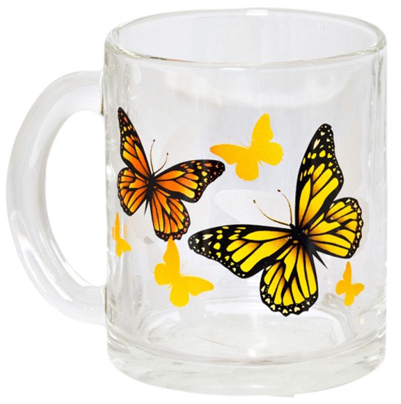 Кружка OSZ Чайная. Желтые бабочки, 320 мл115510Кружка OSZ Чайная. Желтые бабочки изготовлена из термостойкого стекла и украшена яркимрисунком. Изделие оснащено удобной ручкой и сочетает в себе лаконичный дизайн и функциональность.Идеально подойдет для чая и других горячих напитков. Яркий принт поднимет настроение вам и вашим гостям! Кружка OSZ Чайная. Желтые бабочки не только украсит ваш кухонный стол, но иподчеркнет прекрасный вкусхозяйки. Диаметр кружки: 7,5 см.Высота кружки: 9,5 см. Объем: 320 мл.