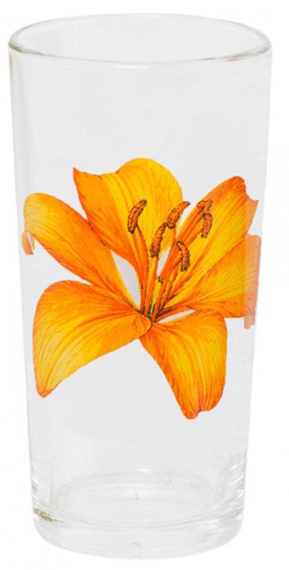 Стакан OSZ Ода. Лилия, 230 млVT-1520(SR)Стакан OSZ Ода. Лилия выполнен из высококачественного бесцветного стекла и украшен ярким рисунком. Идеально подходит для сервировки стола.Такой стакан не только украсит ваш кухонный стол, но и подчеркнет прекрасный вкус хозяйки.Диаметр стакана (по верхнему краю): 6,5 см. Диаметр основания: 5 см. Высота стакана: 12,5 см.