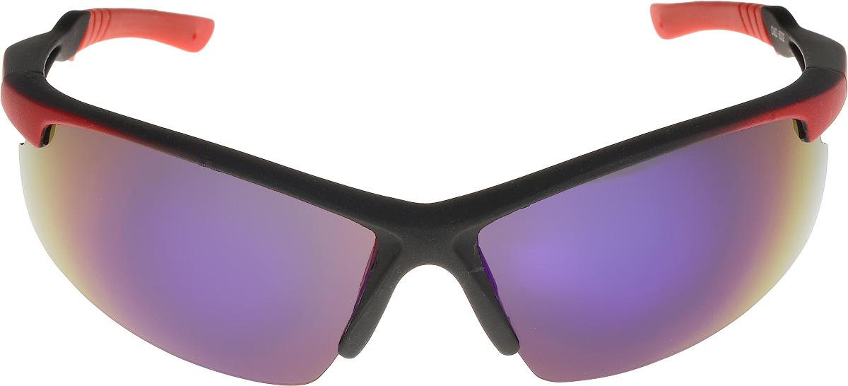 Очки солнцезащитные мужские Vita Pelle, цвет: красный, синий. ОС6032/17fBM8434-58AEОчки солнцезащитные Vita Pelle это знаменитое итальянское качество и традиционно изысканный дизайн.