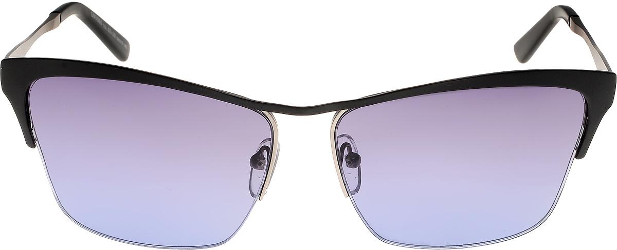 Очки солнцезащитные женские Vita Pelle, цвет: черный, голубой. ОС806с03-29/17fINT-06501Очки солнцезащитные Vita Pelle это знаменитое итальянское качество и традиционно изысканный дизайн.
