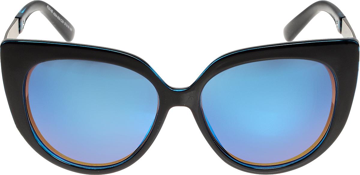 Очки солнцезащитные женские Vita Pelle, цвет: черный, синий. ОС9146с504-658-29/17fBM8434-58AEОчки солнцезащитные Vita Pelle это знаменитое итальянское качество и традиционно изысканный дизайн.