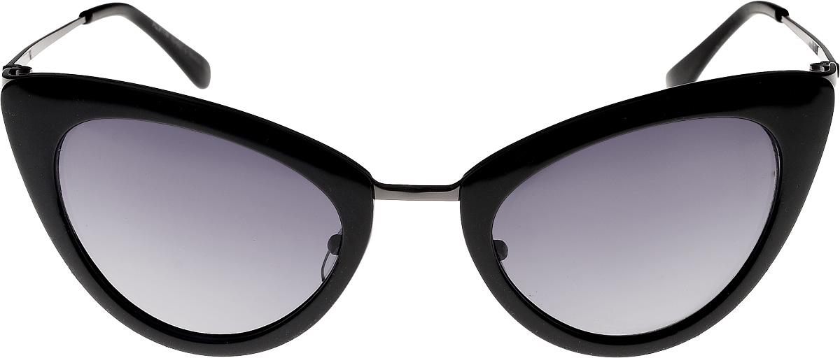 Очки солнцезащитные женские Vita Pelle, цвет: черный. ОС9114с10-637-2/17fINT-06501Очки солнцезащитные Vita Pelle это знаменитое итальянское качество и традиционно изысканный дизайн.