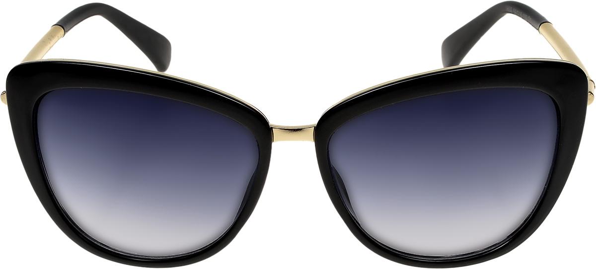 Очки солнцезащитные женские Vittorio Richi, цвет: черный. ОС1859с1/17fINT-06501Очки солнцезащитные Vittorio Richi это знаменитое итальянское качество и традиционно изысканный дизайн.