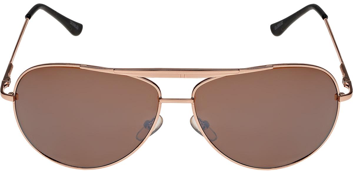 Очки солнцезащитные мужские Vittorio Richi, цвет: коричневый. ОС80032-6/17fBM8434-58AEОчки солнцезащитные Vittorio Richi это знаменитое итальянское качество и традиционно изысканный дизайн.