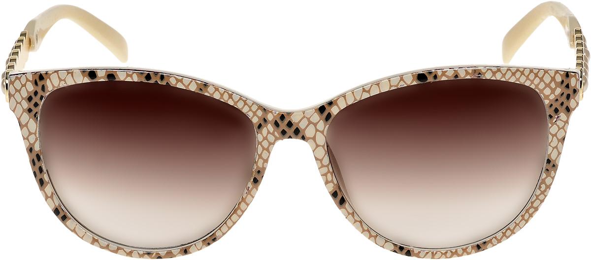 Очки солнцезащитные женские Vittorio Richi, цвет: коричневый. ОС1857с4/17fBM8434-58AEОчки солнцезащитные Vittorio Richi это знаменитое итальянское качество и традиционно изысканный дизайн.