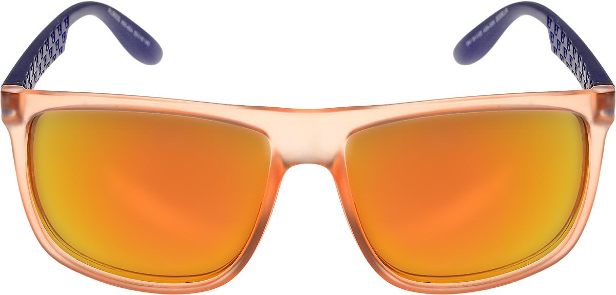 Очки солнцезащитные женские Vittorio Richi, цвет: оранжевый, синий. ОС9008c95-654/17fINT-06501Очки солнцезащитные Vittorio Richi это знаменитое итальянское качество и традиционно изысканный дизайн.