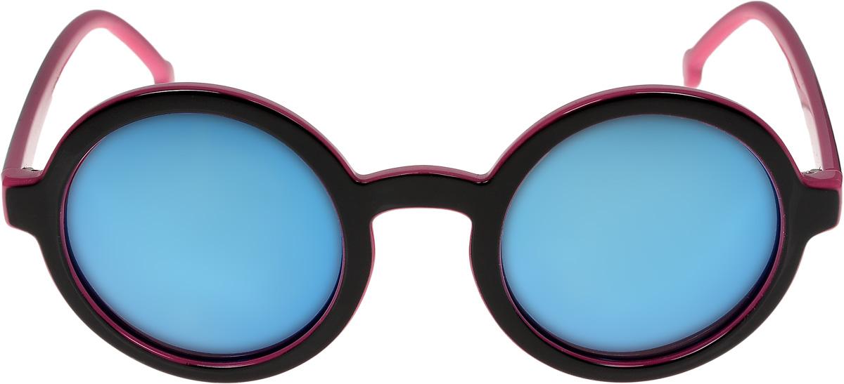 Очки солнцезащитные женские Vittorio Richi, цвет: черный, розовый. ОС9038c226-464/17fBM8434-58AEОчки солнцезащитные Vittorio Richi это знаменитое итальянское качество и традиционно изысканный дизайн.