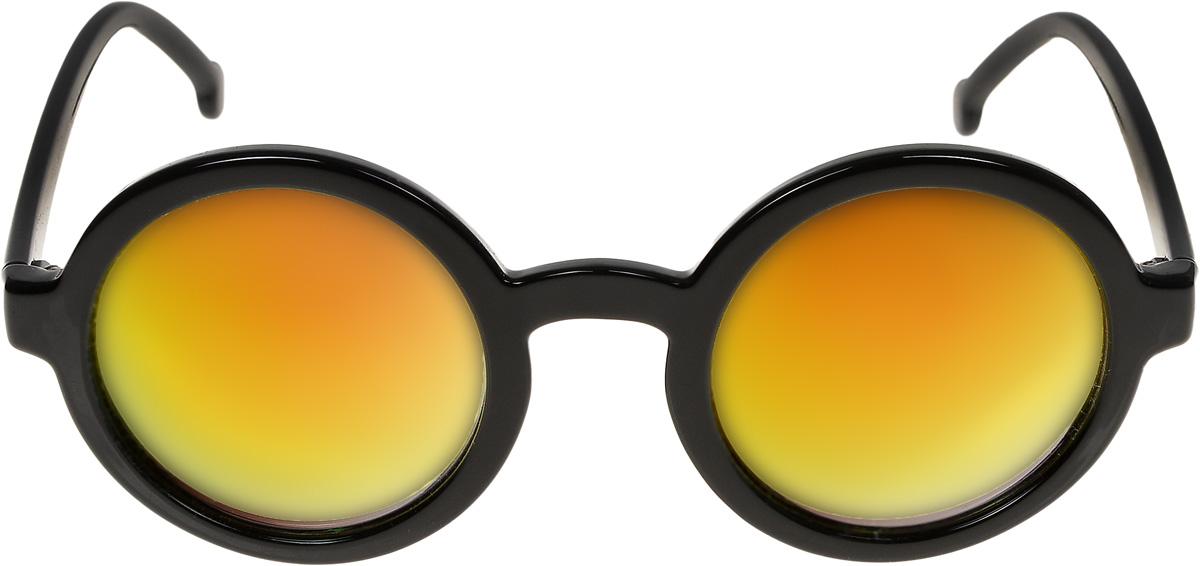 Очки солнцезащитные женские Vittorio Richi, цвет: черный, желтый. ОС9038c10-464/17fINT-06501Очки солнцезащитные Vittorio Richi это знаменитое итальянское качество и традиционно изысканный дизайн.