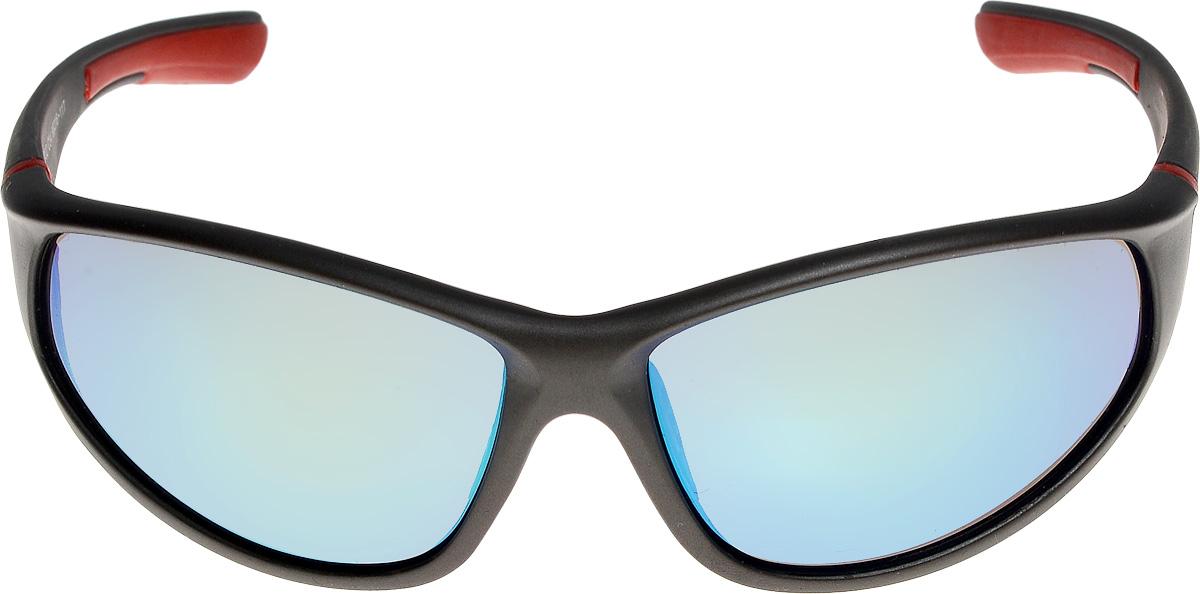 Очки солнцезащитные мужские Vita Pelle, цвет: черный, красный. ОС9002с04/17fINT-06501Очки солнцезащитные Vita Pelle это знаменитое итальянское качество и традиционно изысканный дизайн.
