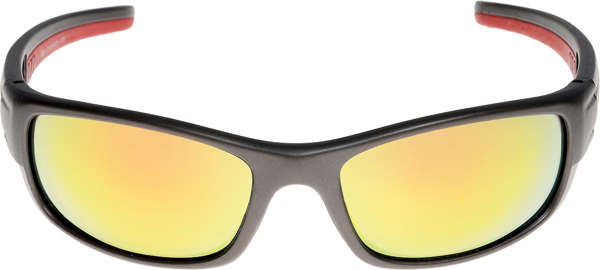 Очки солнцезащитные мужские Vita Pelle, цвет: черный, красный. ОС9009c4/17fINT-06501Очки солнцезащитные Vita Pelle это знаменитое итальянское качество и традиционно изысканный дизайн.