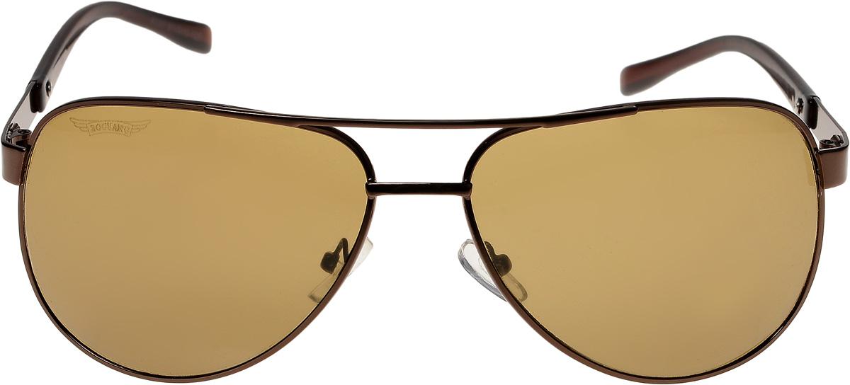 Очки солнцезащитные мужские Vittorio Richi, цвет: коричневый. ОС8237/17fBM8434-58AEОчки солнцезащитные Vittorio Richi это знаменитое итальянское качество и традиционно изысканный дизайн.
