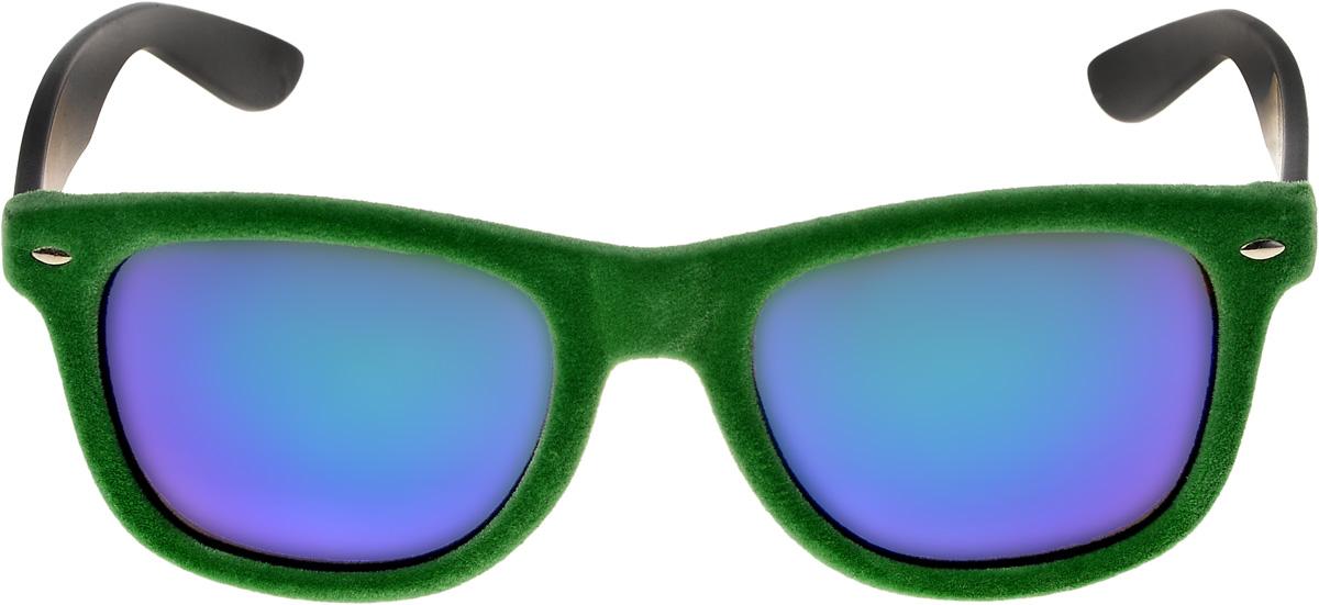 Очки солнцезащитные мужские Vittorio Richi, цвет: зеленый. ОС9054W03-654/17fINT-06501Очки солнцезащитные Vittorio Richi это знаменитое итальянское качество и традиционно изысканный дизайн.