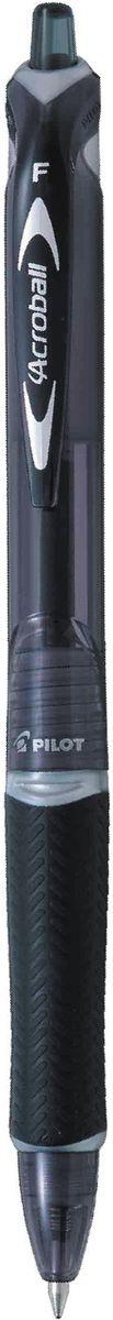 Pilot Ручка шариковая Acroball цвет корпуса черныйPP-304Автоматическая шариковая ручка нового поколения.Надежный многоразовый выдвижной механизм. Яркий глянцевый корпус ручки имеет полупрозрачную тонировку в цвет чернил. Для удобного захвата пальцами ручка оснащена текстурированным упором из гигроскопичной резины. Еще более плавное и мягкое письмо данной модели достигается за счет инновационных чернил, имеющих масляную основу повышенной вязкости.Идеальное сочетание стиля и комфорта.