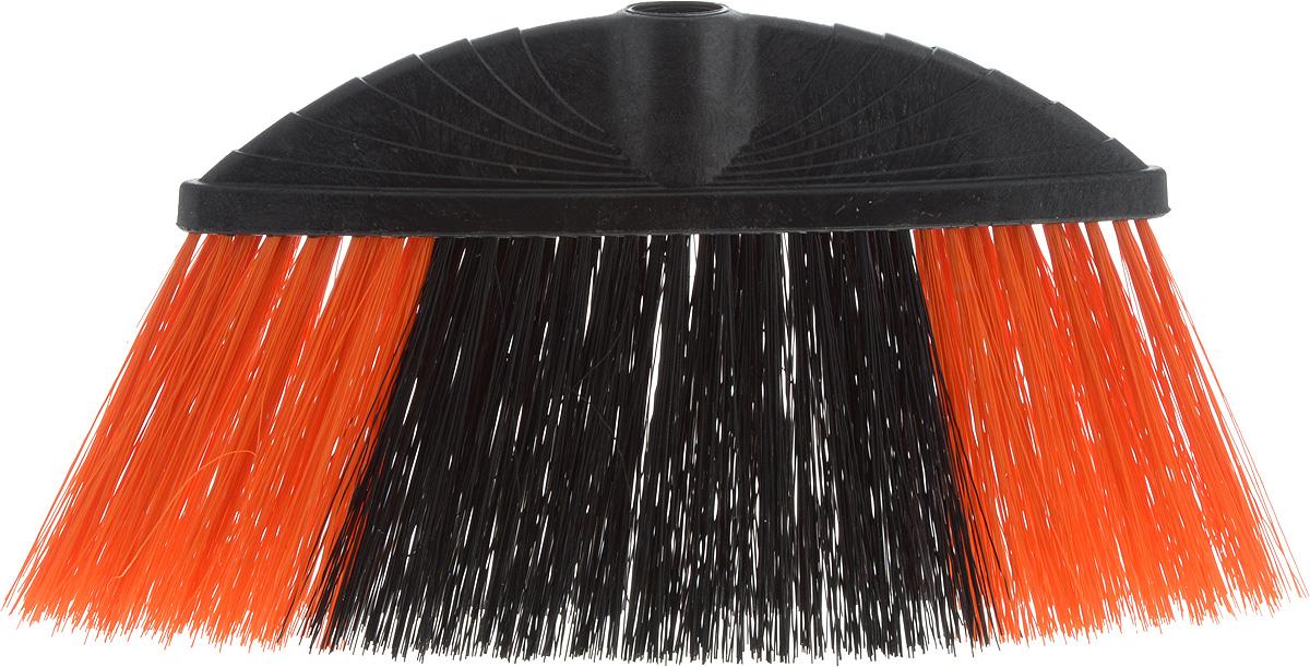Щетка Azur Marta, без ручки, цвет: оранжевый, черный, ширина 24 см5013_оранжевый, черныйЩетка Azur Marta изготовлена из пластика и предназначена для уборки сухого мусора. Щетка оснащена универсальной резьбой, которая подходит ко всем видам ручек. Упругий удлиненный ворс позволит тщательнее и быстрее собирать мусор.Ширина щетки: 24 см.Длина ворса: 10 см.Диаметр отверстия под ручку: 2,1 см.