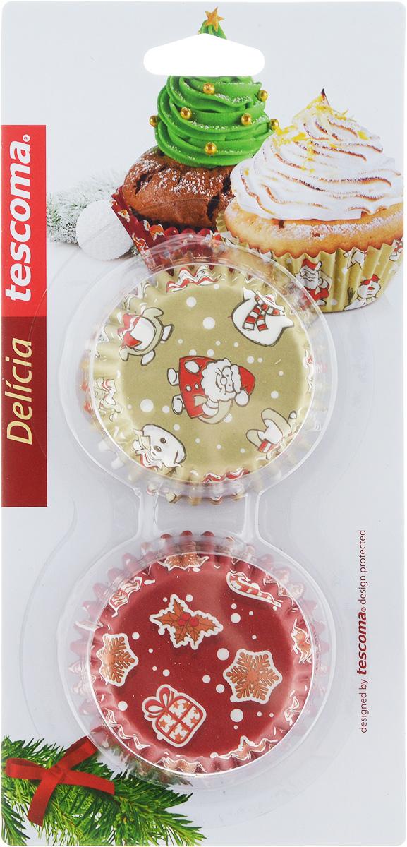 Форма для выпечки Tescoma Delicia. Корзинка. Рождественские мотивы, диаметр 6 см, 60 шт54 009312Формы для выпечки Tescoma Delicia. Корзинка. Рождественские мотивы, изготовленные из высококачественной бумаги, выдерживают высокую температуру. В комплекте 60 форм, выполненных в виде мини-кексов с красочными новогодними рисунками. Если вы любите побаловать своих домашних вкусным и ароматным угощением по вашему оригинальному рецепту, то формы Tescoma Delicia. Корзинка. Рождественские мотивы как раз то, что вам нужно!Диаметр формы (по верхнему краю): 6 см.Высота формы: 2,5 см.