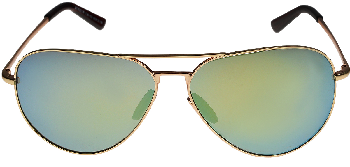 Очки солнцезащитные Vittorio Richi, цвет: золотистый, голубой. ОС8001с36-103/17fBM8434-58AEОчки солнцезащитные Vittorio Richi это знаменитое итальянское качество и традиционно изысканный дизайн.