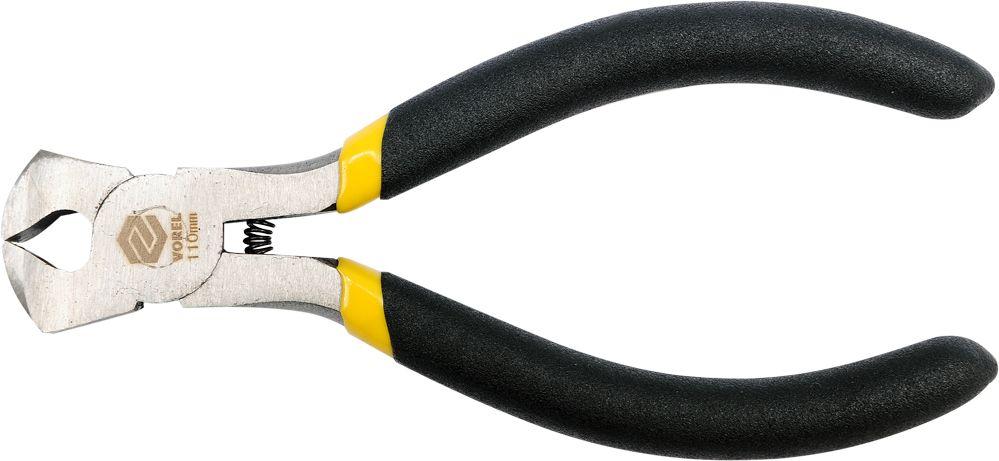 Кусачки торцевые Vorel Профи, 110 ммFS-80423Кусачки торцевые VOREL ПРОФИ, длина 110 мм.