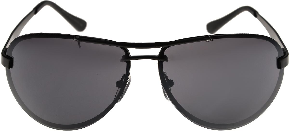 Очки солнцезащитные мужские Vittorio Richi, цвет: черный. ОС15106/17fINT-06501Очки солнцезащитные Vittorio Richi это знаменитое итальянское качество и традиционно изысканный дизайн.