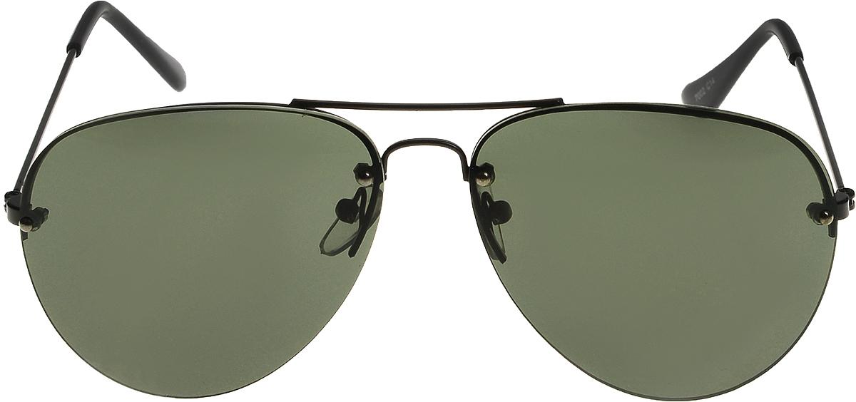Очки солнцезащитные Vittorio Richi, цвет: зеленый. ОС7002c14/17fEQW-M710DB-1A1Очки солнцезащитные Vittorio Richi это знаменитое итальянское качество и традиционно изысканный дизайн.