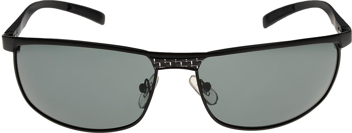 Очки солнцезащитные мужские Vittorio Richi, цвет: черный. ОС80050-8/17fINT-06501Очки солнцезащитные Vittorio Richi это знаменитое итальянское качество и традиционно изысканный дизайн.
