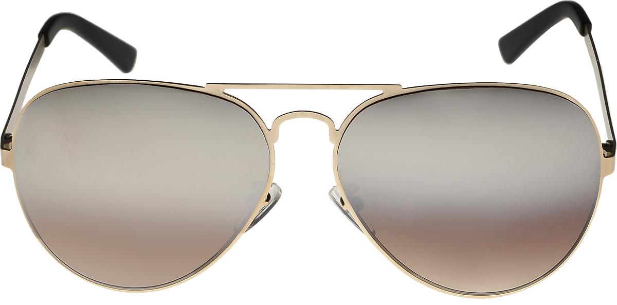 Очки солнцезащитные мужские Vita Pelle, цвет: золотистый, коричневый. ОС1005с7/17fBM8434-58AEОчки солнцезащитные Vita Pelle это знаменитое итальянское качество и традиционно изысканный дизайн.