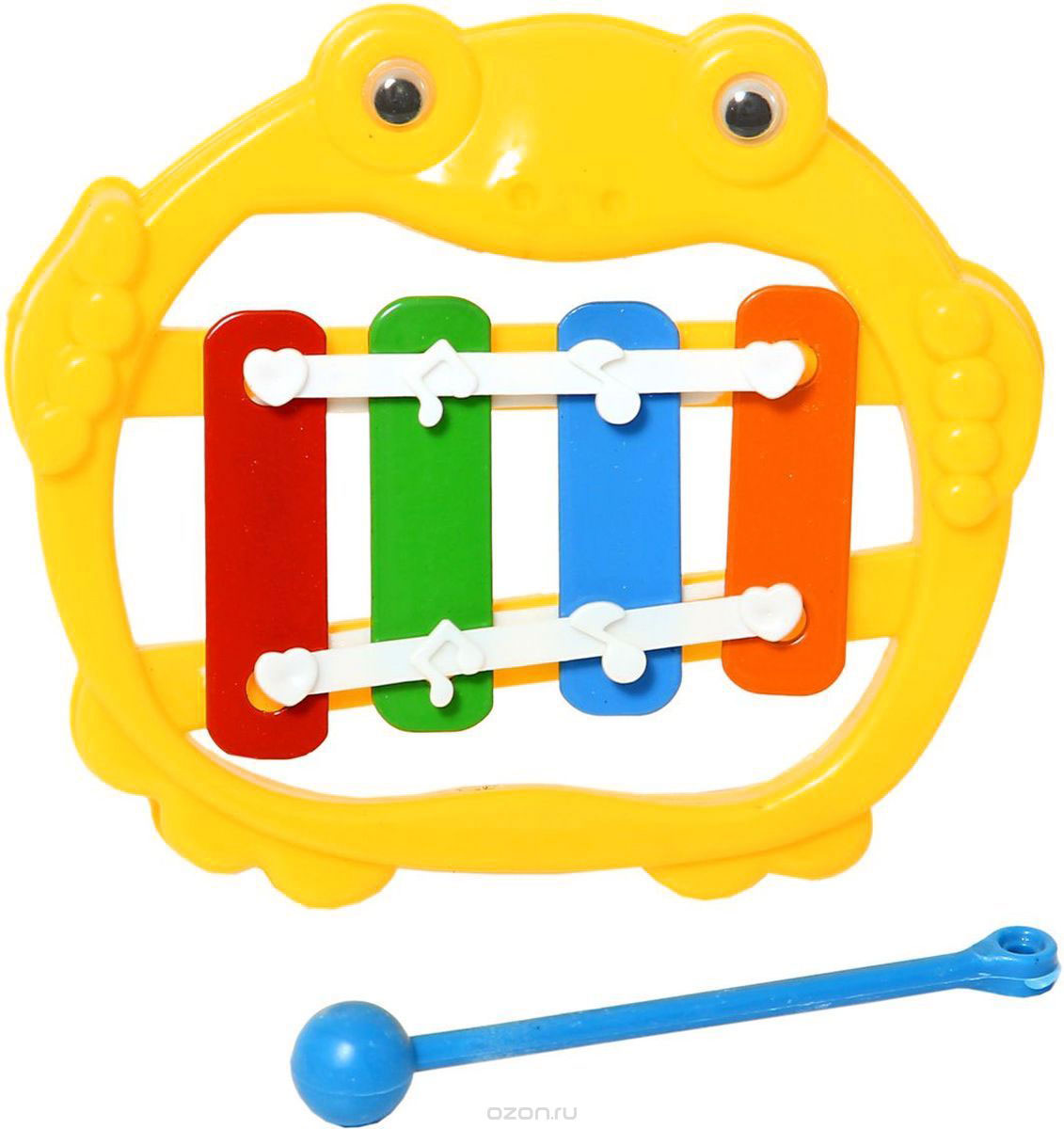 Amiсo Металлофон цвет желтый
