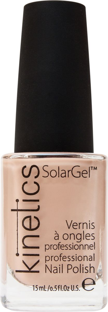 Kinetics Профессиональный лак SolarGel Polish, 15 мл, тон 154WS 7064Новое поколение профессиональных гелевых лаков для ногтей, которые наносятся как обычный лак, а выглядят как гель. Ультра модные и классические цвета, поражают своей стойкостью и разнообразием оттенков. Стойкость до 10 дней, не требует специальной сушки в UV/LED лампе. Рекомендуется использовать с верхним покрытием SolarGel Top Coat