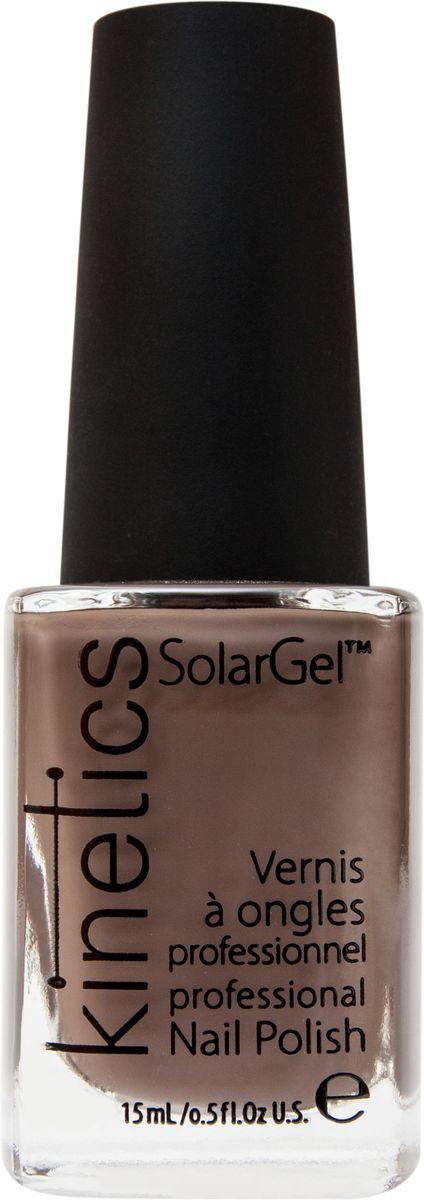 Kinetics Профессиональный лак SolarGel Polish, 15 мл, тон 184FM 5567 weis-grauНовое поколение профессиональных гелевых лаков для ногтей, которые наносятся как обычный лак, а выглядят как гель. Ультра модные и классические цвета, поражают своей стойкостью и разнообразием оттенков. Стойкость до 10 дней, не требует специальной сушки в UV/LED лампе. Рекомендуется использовать с верхним покрытием SolarGel Top Coat