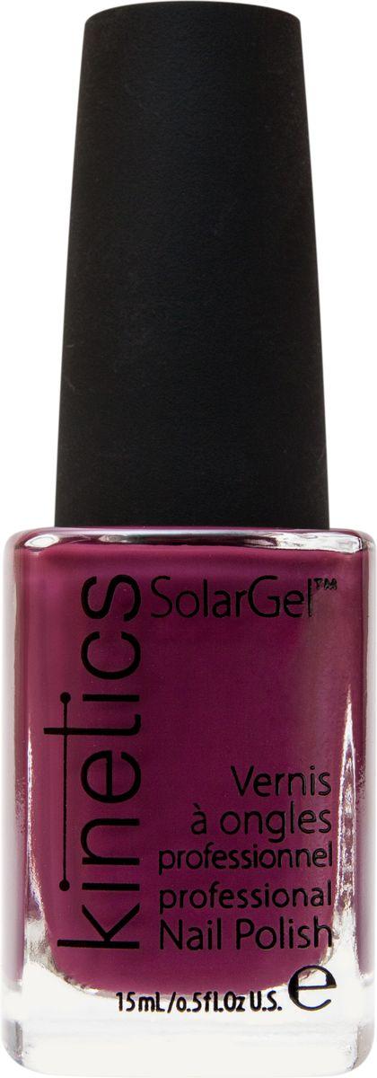 Kinetics Профессиональный лак SolarGel Polish, 15 мл, тон 336WS 7064Новое поколение профессиональных гелевых лаков для ногтей, которые наносятся как обычный лак, а выглядят как гель. Ультра модные и классические цвета, поражают своей стойкостью и разнообразием оттенков. Стойкость до 10 дней, не требует специальной сушки в UV/LED лампе. Рекомендуется использовать с верхним покрытием SolarGel Top Coat