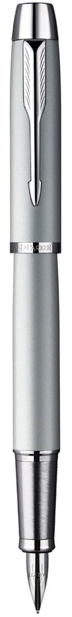 Parker Ручка перьевая Im Silver CT цвет корпуса светло-серыйPP-220Ручка - это не просто пишущий инструмент, это - часть имиджа, наглядно демонстрирующая статус, характер и образ жизни ее владельца.Перьевая ручка Parker Im Silver CT с пером из нержавеющей стали - это гарант вашего неповторимого стиля и элегантности.Корпус ручки выполнен из нержавеющей стали, а хранится она в фирменном футляре.Бренд Parker гарантирует полную уверенность в превосходном качестве товара. Ручка Parker будет не только долго служить, но и неизменно радовать удобством и легкостью письма, надежностью в эксплуатации и прекрасным эстетическим исполнением. Удивительное разнообразие моделей, а также великолепие и надежность отделки поверхностей позволяют удовлетворить даже самые взыскательные вкусы, обеспечивая при этом безукоризненность исполнения самых разных задач в процессе письма.