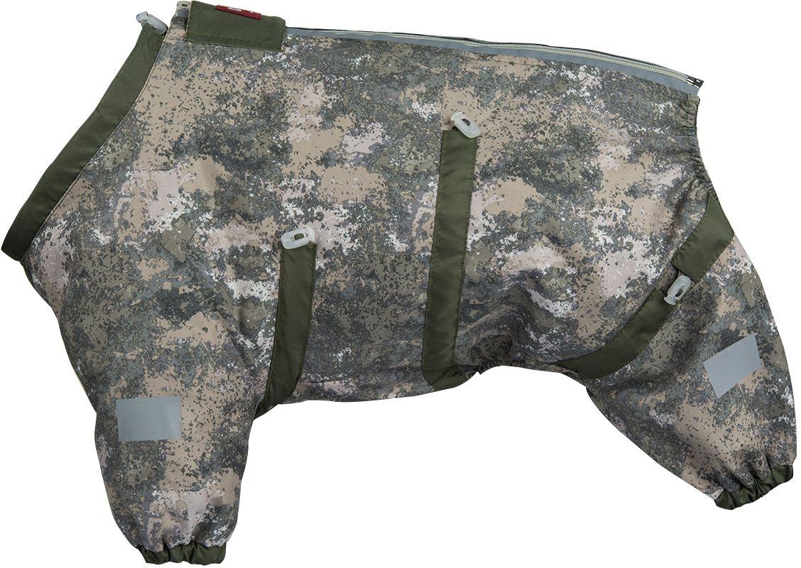 Комбинезон для собак Dogmoda Doggs Active, для мальчика, №64. DM-160314DM-160314Dogmoda представляет новинку в коллекции Doggs- Active, для собак которые любят активные прогулки. Ткань, из которого выполнен комбинезон была разработана для людей, работающих в экстремальных условиях, для охотников и сложных погодных условий. Главная особенность моделей Doggs – четыре затяжки-фиксатора, позволяющие одежде идеально садиться по фигуре, даже если она не является стандартной. Размер комбинезона Doggs соответствует длине спины от холки до хвоста. спина 64 шея 60 грудь 80 Породы: сеттер, доберман, американский бульдог, риджбек, мастино, доберман, кавказская овчарка, немецкая овчарка, ризеншнауцер, сибирский хаски, акита-ину, боксер, ротвейлер, алабай, мастиф, сенбернар, ньюфаундленд. Ваша собака все еще не любит одеваться? Познакомьте ее с Doggs!-Облегчающий процесс надевания и носки;-ничто не сковывает и не ограничивает свободу движений питомца;-одежда плотнее прилегает к телу и идеально садиться по фигуре;-полностью закрывается доступ сквознякам, холодному воздуху и влаге.