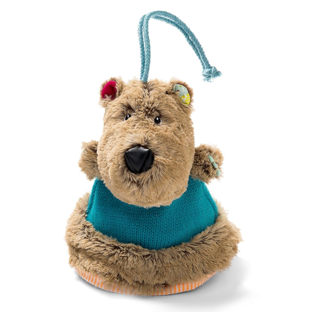 Lilliputiens Прорезыватель Медвежонок Цезарь  сумки для детей lilliputiens медвежонок цезарь мягкая сумочка через плечо