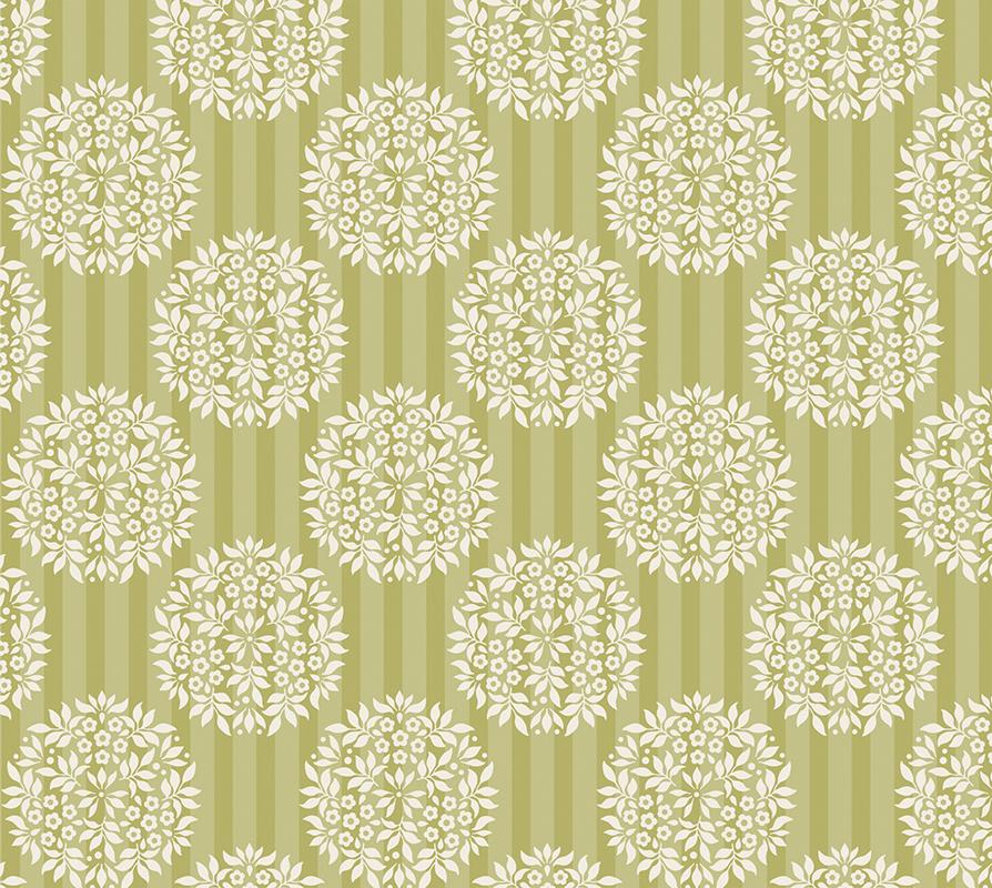 "Ткань ""Tilda"", цвет: зеленый, горчичный, 50 х 55 см. 210480850"