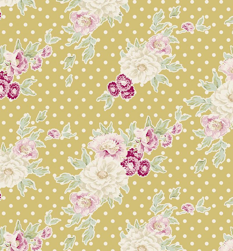 Ткань Tilda, цвет: желтый. розовый, фиолетовый, 50 х 55 см. 210480852NLED-454-9W-BKТкань Tilda, выполненная из натурального хлопка, используется для творческих работ. Хлопковые ткани не выцветают, не линяют, не деформируются при стирке и в процессе носки готовых изделий, сшитых из этих тканей.Ткань Tilda можно без опасений использовать в производстве одежды для самых маленьких детей, в производстве игрушек. Также ткань подойдет для декора и оформления творческих работ в различных техниках. Ширина: 110 см. Длина: 1 м.