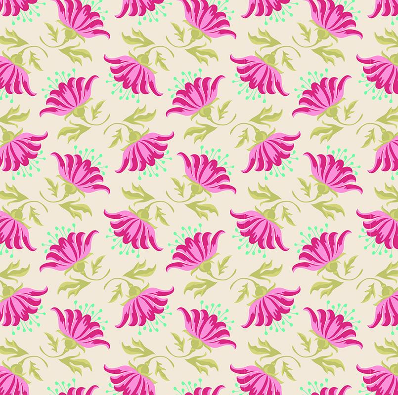 Ткань Tilda Painted Lily, цвет: бежевый, малиновый, зеленый, 50 х 55 см. 210480890318687Ткань Tilda Painted Lily, выполненная из натурального хлопка, используется для творческих работ. Хлопковые ткани не выцветают, не линяют, не деформируются при стирке и в процессе носки готовых изделий, сшитых из этих тканей.Ткань Tilda Painted Lily можно без опасений использовать в производстве одежды для самых маленьких детей, в производстве игрушек. Также ткань подойдет для декора и оформления творческих работ в различных техниках. Ширина: 55 см. Длина: 50 см.